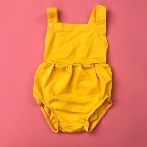 Bright Yellow Summer Onesie